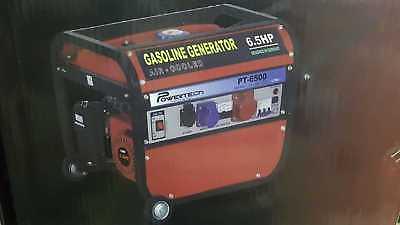 Lot 50008 - V Brand New 220v UK6500 Petrol Generator - Universal Kraft Germany - On Frame On Wheels - eBay Price