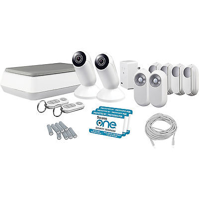 Lot 50040 - V Grade A Swann ONE Advanced Smart Home Control Kit Includes 1 x Smart hub - 2 x Key Fob - 2 x