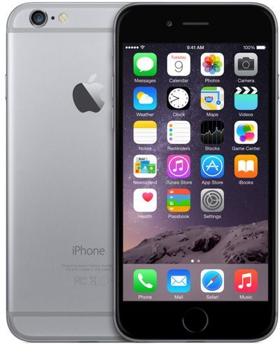 Lot 50046 - Grade A Apple iphone 6 128GB Colours May Vary Touch ID Non Functional Item available approx 12