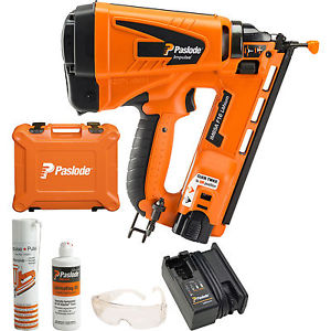 Lot 50001 - V Brand New Paslode IM65A F16 Angled Lithium Brad Nailer With Battery & Charger ISP £586.66 (