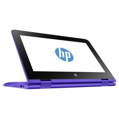 Lot 50013 - V Grade A HP Stream N3060 Convertible Laptop Purple - 2Gb RAM - 32Gb eMMC - 1TB OneDrive - 11.6""