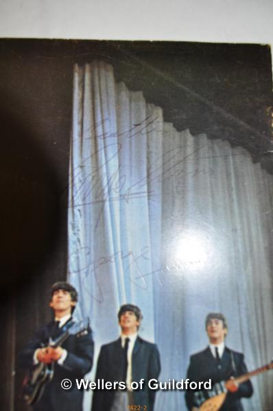 Lot 7401 - The Beatles by Royal Command booklet, printed in 1963, signed on back cover by Ringo Starr, Paul