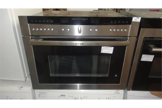 1 X Boxed Neff Pyrolyitic Ht5hb86p Combination Microwave Oven And Grill In Stainless Steel Rrp