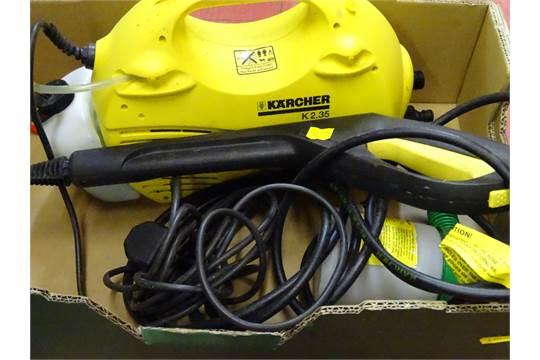 Karcher K2 35 pressure washer with accessories etc E/T