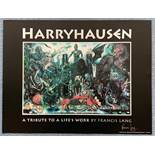 """RAY HARRYHAUSEN """"A TRIBUTE TO A LIFE'S WORK"""" (1992) - Limited Edition poster featuring RAY"""