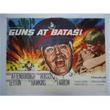 "GUNS AT BATASI (1964)- UK Quad Film Poster - - 30"" x 40"" (76 x 101.5 cm)"