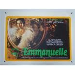 EMMANUELLE (1974) UK Quad Film Poster - Rolled