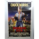 JOB LOT OF 15 X US ONE SHEET MOVIE POSTERS: FORCED VENGEANCE (1982); INVASION USA (1985); DEATH