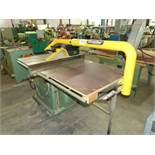 """GENERAL 10"""" TABLE SAW, 24"""" GAUGING SYSTEM, TILTING BLADE, WITH EXCALIBUR DUST COLLECTOR ARM ONLY"""
