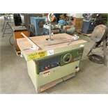 SCM MODEL T130 SPINDLE MOULDER TABLE SIZE:1200x720 MM, MOTOR OUTPUT 5,5 Kw SPINDLE DIAMETER:30 MM