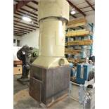 MURPHY FLOOR MOUNTED CYCLONE DUST COLLECTOR, DUAL BAG SYSTEM