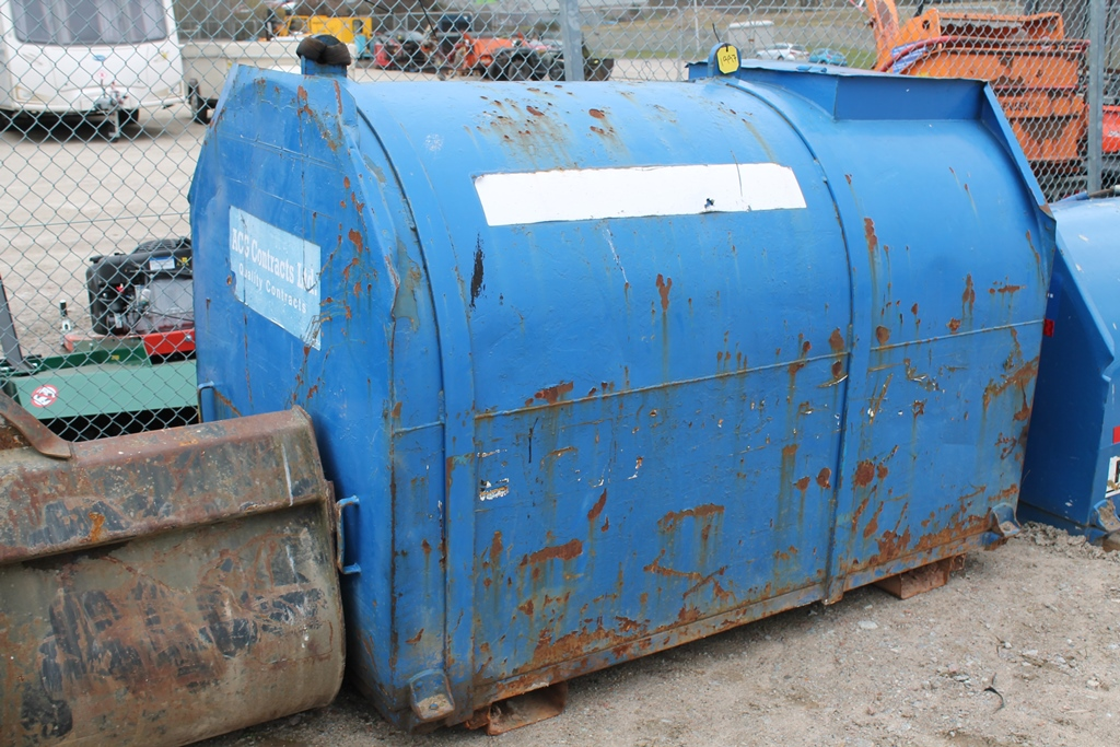 Lot 1997 - BUNDED FUEL TANK - STRAP LIFTS
