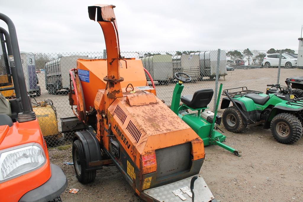 Lot 2003 - JENSEN A540 WOOD CHIPPER 561009364 KEY INPC