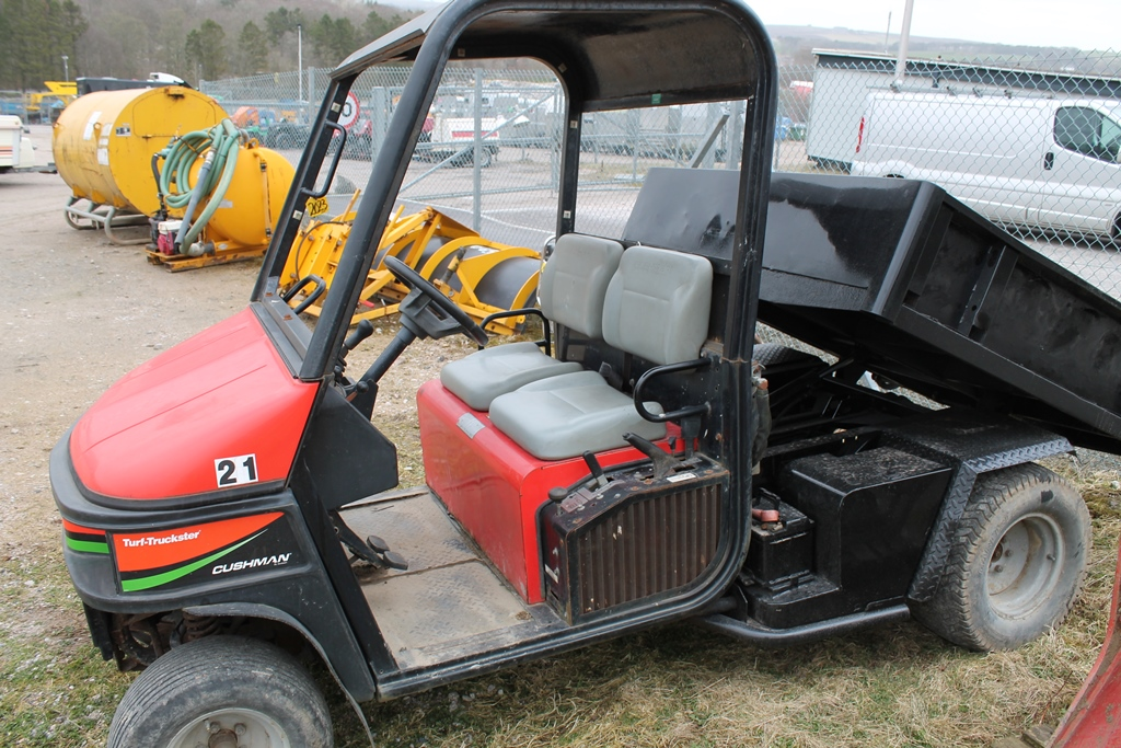 Lot 2023 - CUSHAMN DIESEL POWER TIPPER