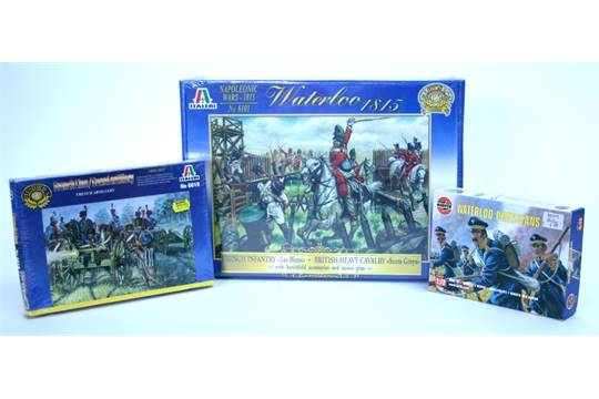 Italeri 1/72 nd scale Waterloo Napoleonic Wars Battle Game set 6101