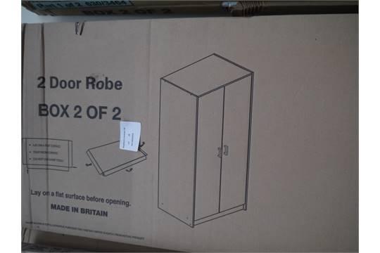 Next & Napoli 2 Door Wardrobe. Boxed. Width - 70cm Depth - 49.5cm. Height ...