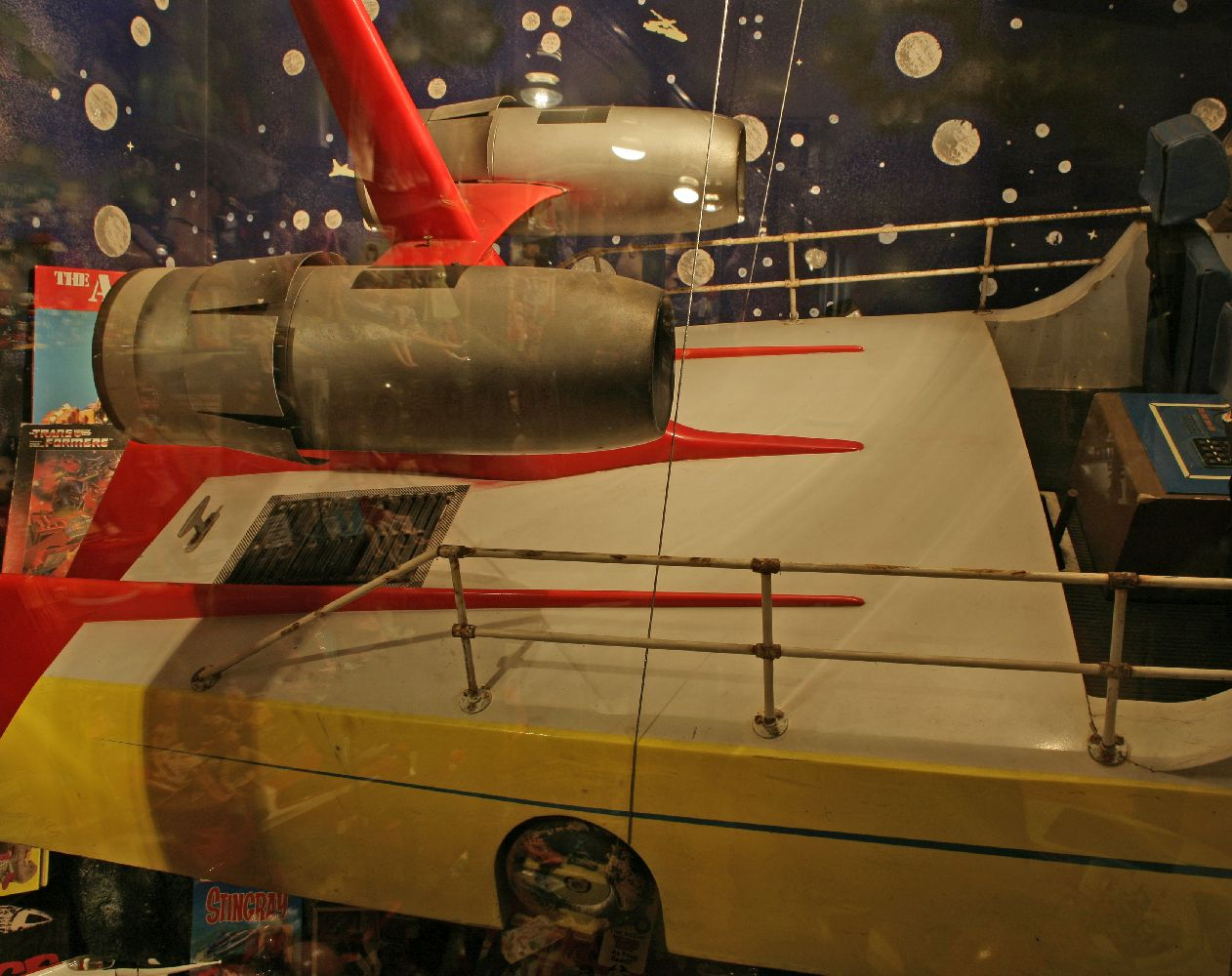 Lot 571 - An original film prop for the 'The Investigator', a speed boat, designed by Reg Hill for Gerry