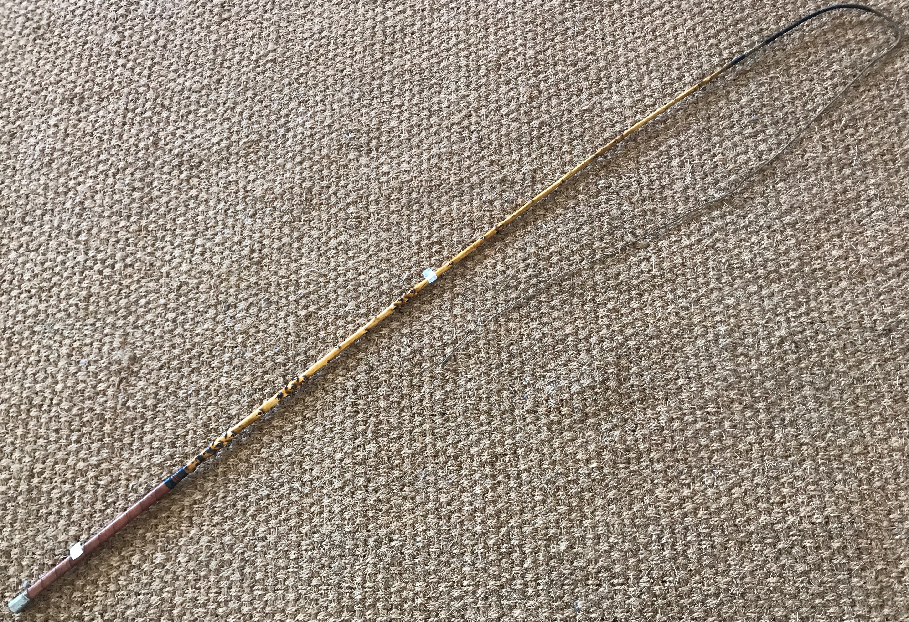 Lot 31A - A Victorian driving whip by W Lazonby of London