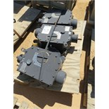 Biffi Actuators. Lot: (3) 75mm Stem Diameter, 20 Handwell Turns, 90° Rotation, 270 Nm Input
