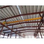 Kone Crane 2.5-Ton Bridge Crane. Approx. 55' Span, w/ (1) Remote Controlled 2.5-Ton Capacity