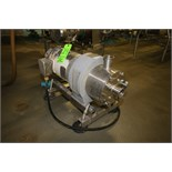 "Silverson 10 hp High Shear Pump, Model 450LS, S/N 450LSP2503 with 2"" x 2"" Clamp Type S/S Head and"