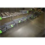 (11) Assorted S/S Stands and Platforms - Some with Plastic Grating