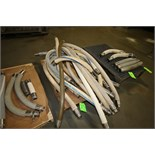 "Assorted 2"" Clamp Type Transfer Hoses from 43"" L to 93"" L"