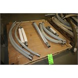 "Assorted 1"" to 2"" Clamp Type Transfer Hoses from 11"" L to 50"" L"