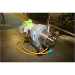 "Silverson 10 hp High Shear Pump, Model 450LS, S/N 450LSR2504 with 2"" x 2"" Clamp Type S/S Head and"