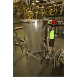 "Ace 104 Gal. S/S Processor with Hinged Lid, ~3 hp Centrifugal Pump with 1-1/2"" x 1-1/2"" S/S Head and"