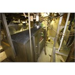 S/S Cone-Bottom Batter Hopper with Dual S/S Discharge Chutes and (2) Rotary Star Valves, Overall