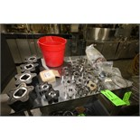 Assorted Pump Parts including (7) Rotors - Size 2x4 and 4x6; (11) 2x4 S/S Rotors; Front Plate;