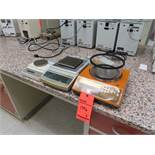Lot of (3) assorted scales including: (1) Sartorius E2000D, (1) Mettler Toledo PG503-S, (1) Ohaus