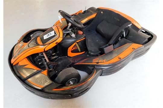 Sodi RX7 Petrol Powered Go-Kart with Honda 6 5 GX200 Engine
