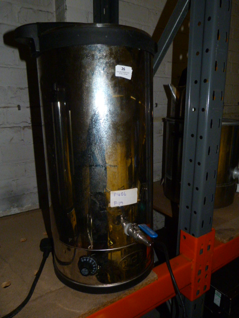 Lot 26 - *Ace Catering 30L Beer Mash Tun F19