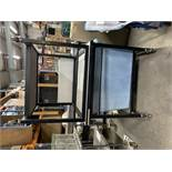 2 x Mobile Tables/Trolleys With Under Shelf