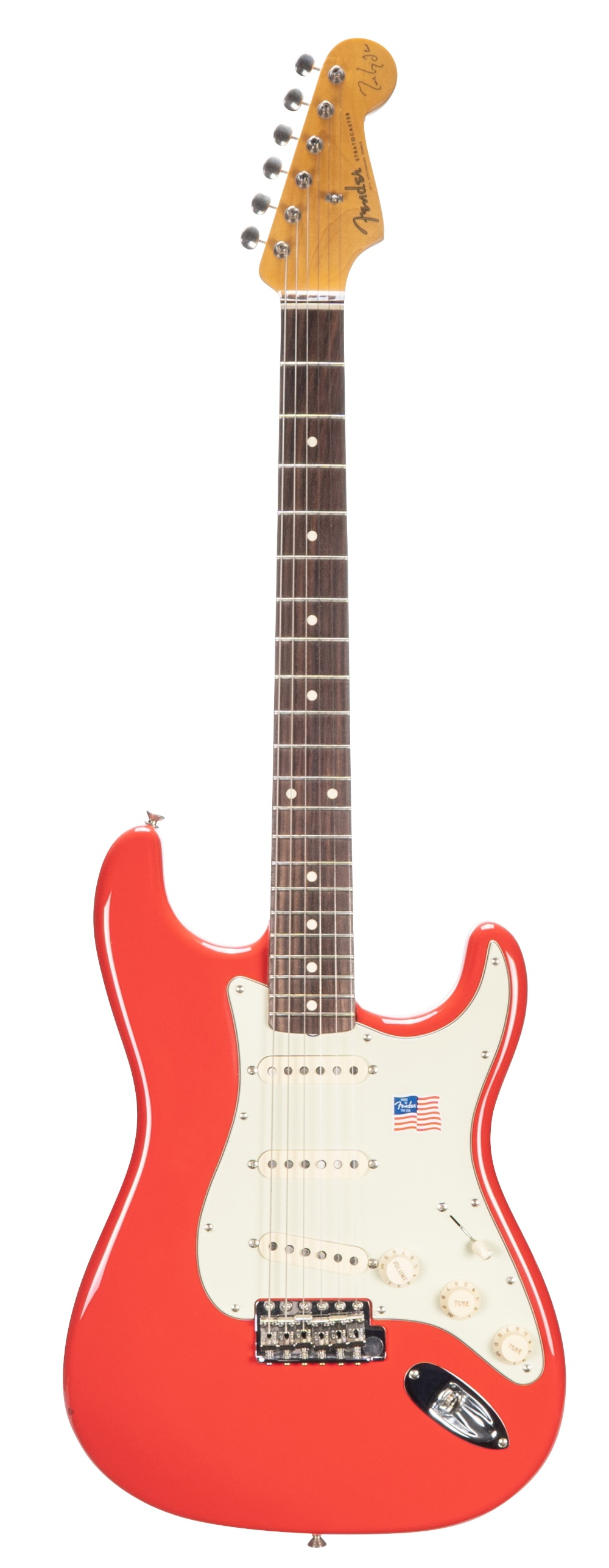 Fender Signature Series Mark Knopfler Stratocaster electric guitar, made in USA, ser. no. SE0xxx7;