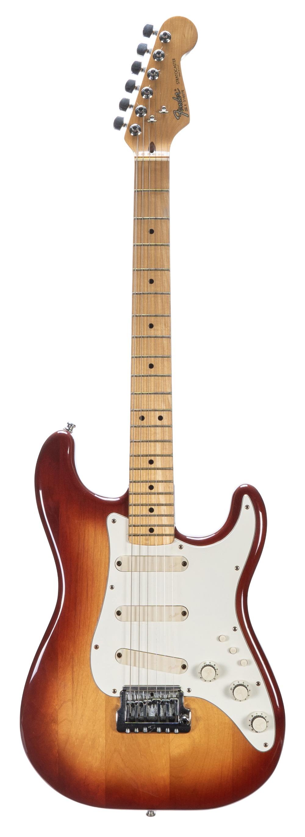 1983 Fender Stratocaster Elite electric guitar, made in USA, ser. no. E3xxx76; Finish: Sienna
