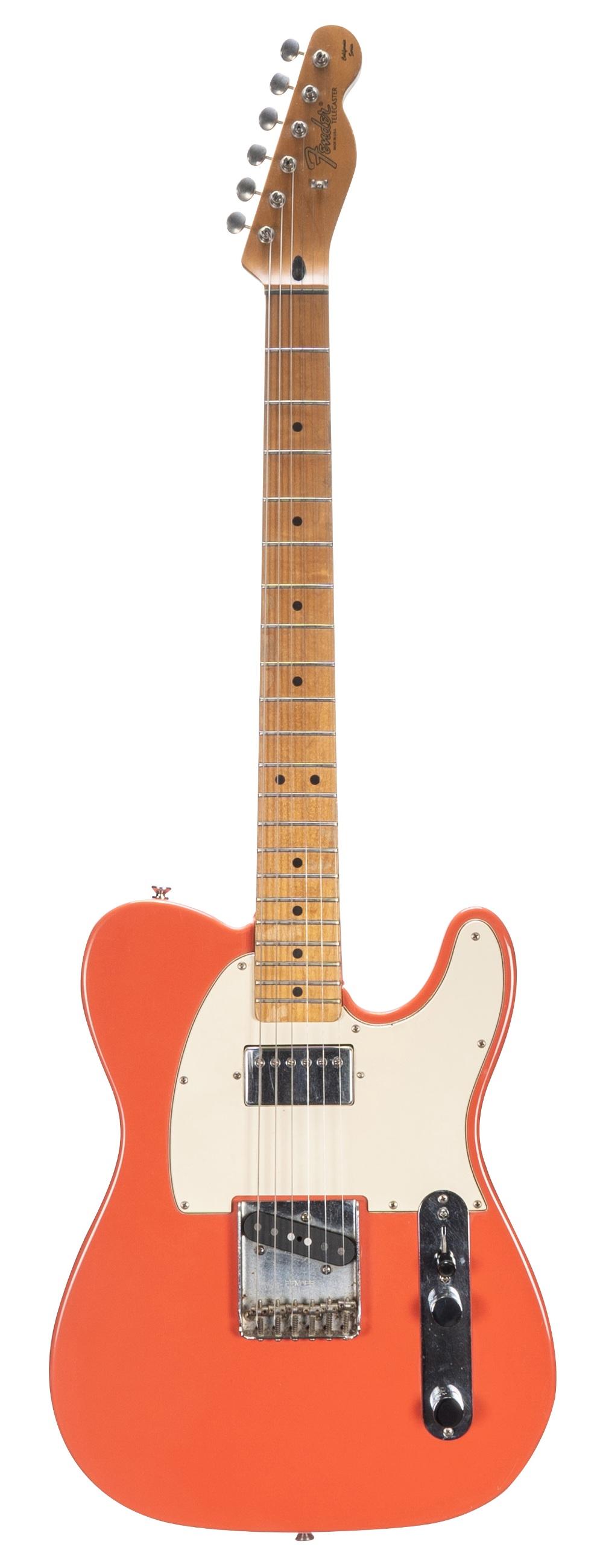 1997 Fender California Series Telecaster electric guitar, made in USA, ser. no. AMXN7xxxx5;