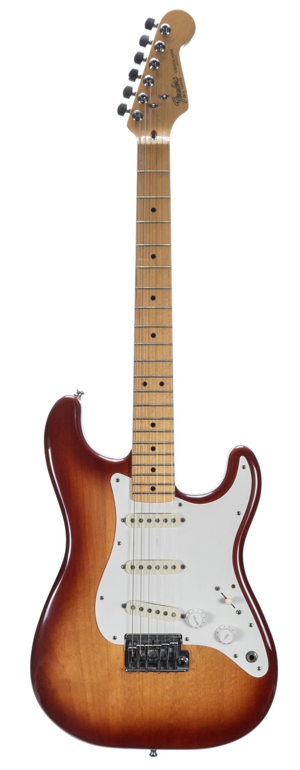 1983 Fender Dan Smith Era Stratocaster electric guitar, made in USA, ser. no. E3xxxx8; Finish: