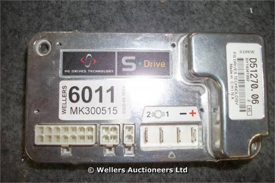 PG DRIVES TECHNOLOGY S-DRIVE D51270 06 / GRADE: UNCLAIMED