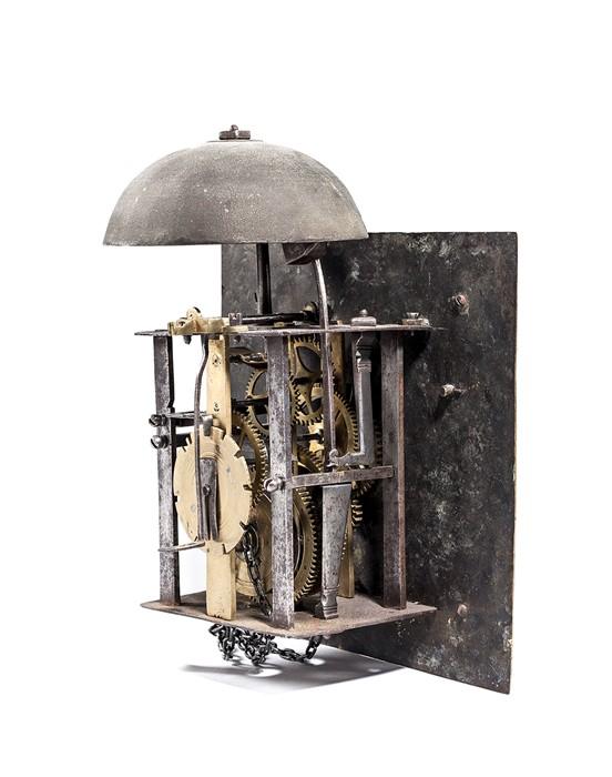 Lot 45 - An 18th century oak longcase clock by Wm Stokes