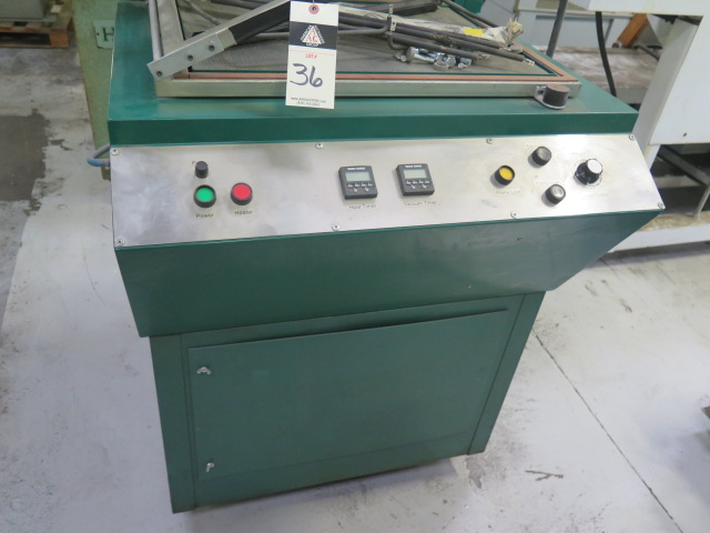 "Lot 36 - Q-Vac mdl. T1824 18"" x 24"" Vacuum Packaging Machine s/n 050307"