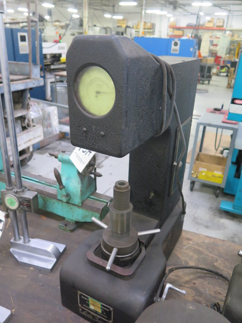 Louis Small Service Diamond mdl. 8A Rockwell Hardness Tester s/n 5301 - Image 2 of 5