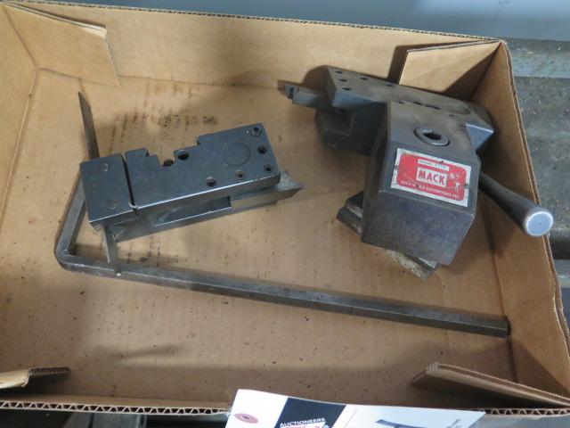 Lot 44 - Mack Tool Post and Tool Holders
