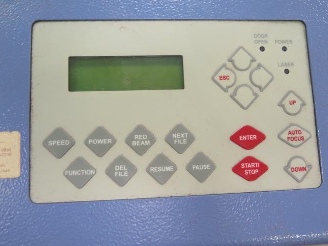 "Lot 26 - LaserPro Mercury mdl. L-30 30Watt Laser Engraver w/ Digital Controls,18"" x 25"" Work Area, Vacuum"