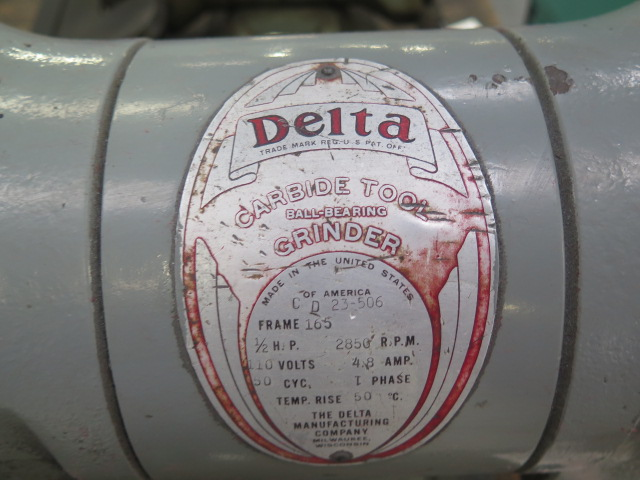 Lot 24 - Delta Carbide Tool Grinder