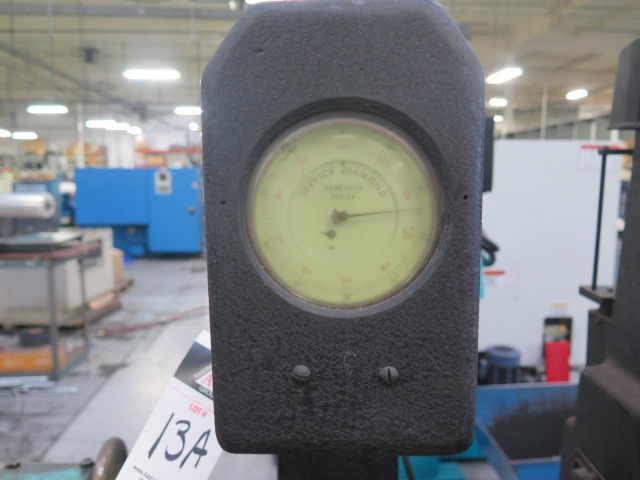 Louis Small Service Diamond mdl. 8A Rockwell Hardness Tester s/n 5301 - Image 3 of 5