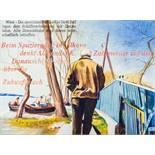 Opening: 3500 EUR        Johanna Kandl  (Wien 1954 geb.)  (ohne Titel) (Beim Spaziergang in Vilkovo)