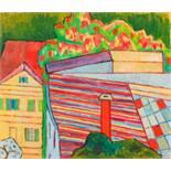 Opening: 8000 EUR        Alfred Wickenburg  (Gleichenberg 1885 - 1978 Graz)  Laimburggasse  Öl auf